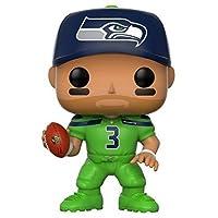 Funko POP NFL: Russell Wilson (Seahawks Color Rush) Figura de colección