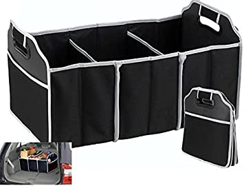 New storage Car Boot Organiser heavy duty Foldable Shopping Tidy With Pockets