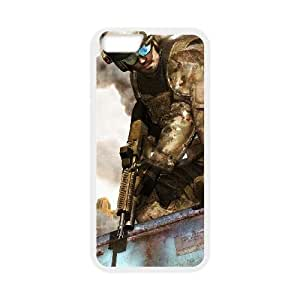 Tom Clancy's Ghost Recon Advanced Warfighter iPhone 6 Plus 5.5 Inch Cell Phone Case White 53Go-096658