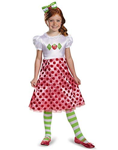 Disguise 84471M Strawberry Shortcake Classic Costume, X-Small (3T-4T) -