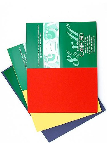 Daler-Rowney Canford Cut Paper & Card Sheets paper dreadnought gray 8 1/2 in. x 11 in. [PACK OF 20 ]
