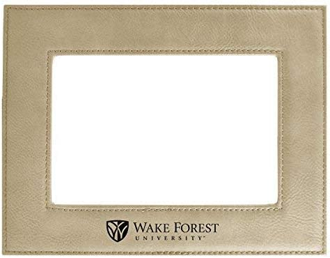 Wake Forest University-Velour Picture Frame 4x6-Tan Inc LXG