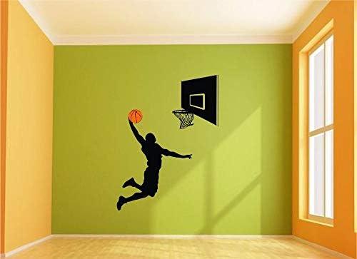 Etiqueta de la pared de Baloncesto Decoración Del Hogar Niños ...