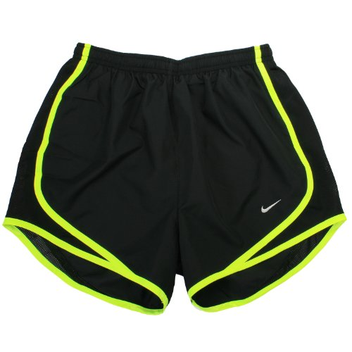 NIKE Womens Tempo Short Black/Volt