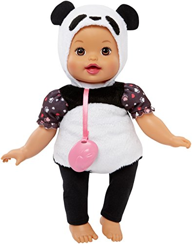Doll Dress Up Costume (Little Mommy Dress Up Cuties Panda Doll)