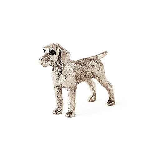 (German Wire Haired Pointer Made in UK Artistic Style Dog Figurine Collection)