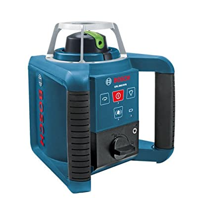 Bosch GRL300HVGRT Self-Leveling Rotary Laser with Green Beam Technology (Certified Refurbished)
