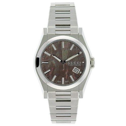 GUCCI Men's YA115401 115 Pantheon Watch