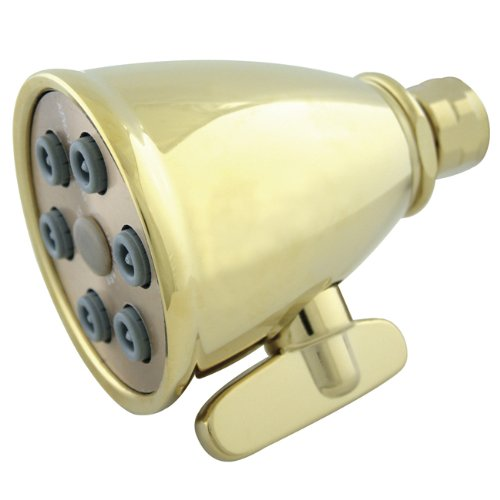 Kingston Brass K138A2 Designer Trimscape Showerscape Jet Spray Shower Head, Polished Brass