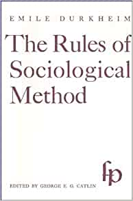 the contradictions in emile durkheims book the rules of sociological method Detail research and analyze about durkheims methodology explore explore by interests career & money to understand the method of emile durkheim10 objective to understand the durkheim's approach towards sociology in the rules of sociological method.