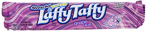 Wrappers Candy Mom (Laffy Taffy Grape, 24/1.5oz bars)