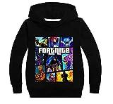Fortnite Hoodie for Kids Boys Girls Crewneck Hooded Sweatshirt