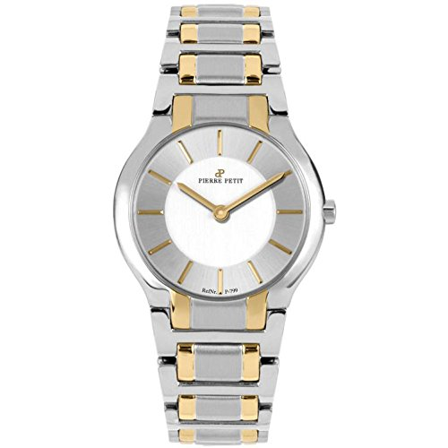 Pierre Petit Women's P-799G Serie Laval Two-Tone Stainless-Steel Bracelet Watch