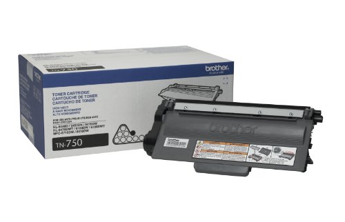 Price comparison product image Brother Printer TN-750 High Yield Toner Cartridge