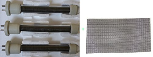 Complete Set of Longer Life Bulbs/Heating Elements 1500 w...