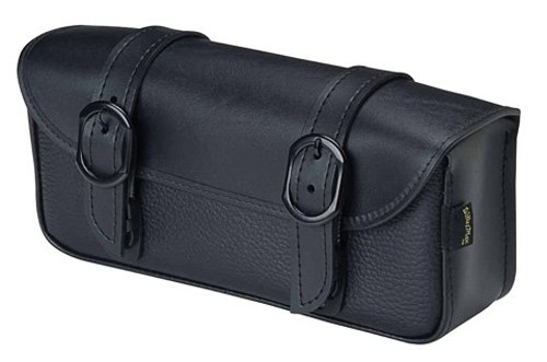 9590-00 Black Jack Series: Synthetic Leather Motorcycle Tool Pouch, Black, Universal Fit ()