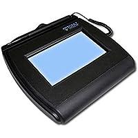 Topaz SigLite LCD 4x3 T-LBK750 Series Dual Serial/USB BackLit Signature Capture Pad