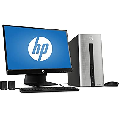 "2016 HP Pavilion 550-153wb Desktop PC with Intel Core i3-4170 Dual-Core Processor, 6GB Memory, 23"" Monitor, 1TB Hard Drive and Windows 10 Home (Certified Refurbished)"