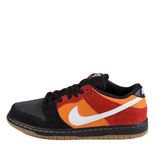Nike Mens Dunk Low Pro SB Black/White-Cinnabar Suede Size 13 Skateboarding