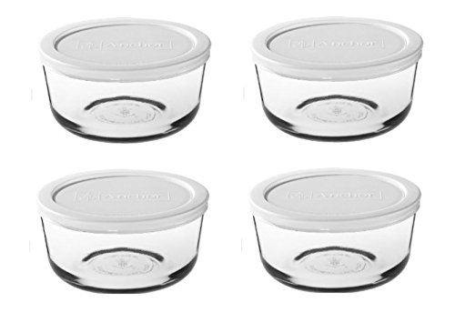 White Pyrex Glass - 4