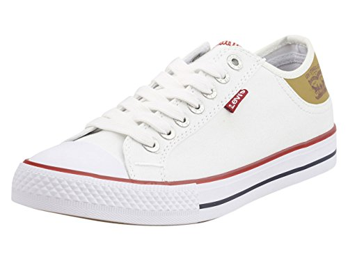 Levi's Men's Stan Buck White/Brown Casual Shoe 12 Men US