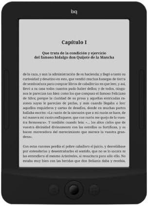 bq Cervantes 2 E-Reader, 2GB, Pantalla E-Ink Vizplex, 6 Pulgadas ...