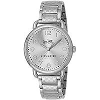 Coach Delancey 36mm Etched Women's Bracelet Watch