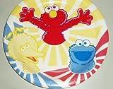 Sesame Street Birthday Party Dinner Size Plates - Big Bird Elmo & Cookie Monster
