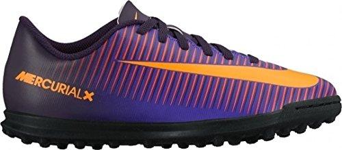 Nike 831954-585, Botas de Fútbol Unisex Adulto Morado (Purple Dynasty / Bright Citrus-Hyper Grape)