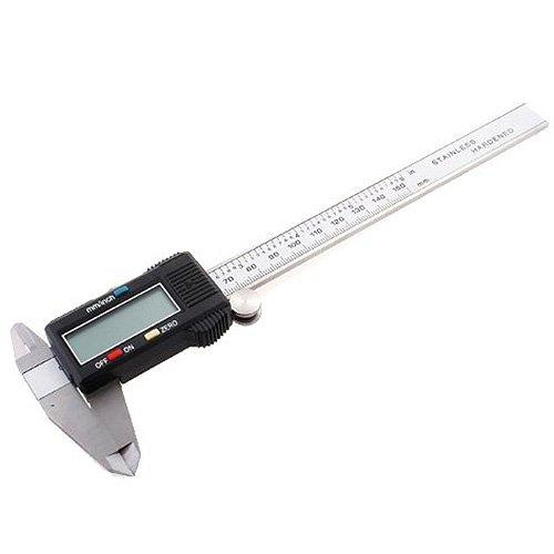 TOOGOO(R) LCD Vernier Digital con el Caliper de 6 inch Calibrador de Micrometro