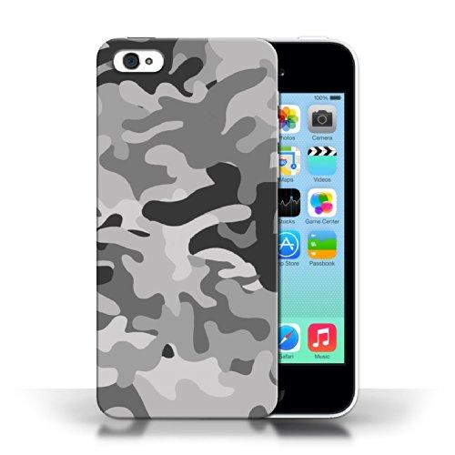 iCHOOSE Print Motif Coque de protection Case / Plastique manchon de telephone Coque pour Apple iPhone 5C / Collection Armée/Marine militaire/Camouflage / Blanc 1