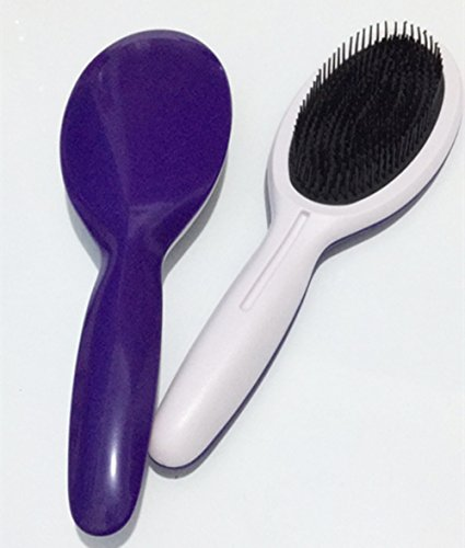 Fashionable elliptical plastic large - board comb anti - static massage smooth comb. Smooth Elliptical