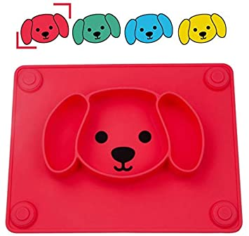 Amazon.com: Qshare - Plato de bebé portátil para niños y ...