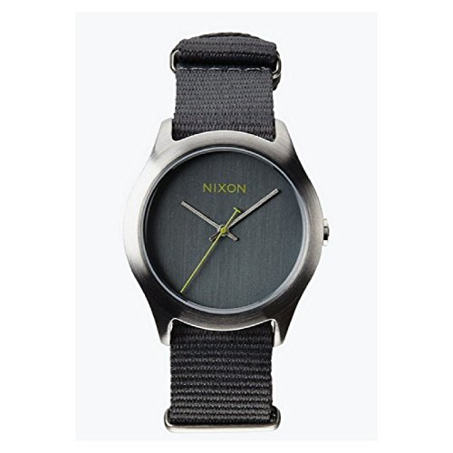 Nixon-Womens-Mod-Stainless-Steel-Watch-with-Fabric-Band