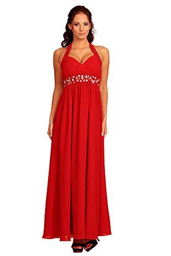 My Para Rosso Dress Evening Mujer Marlene Vestido rwxrPqUZH