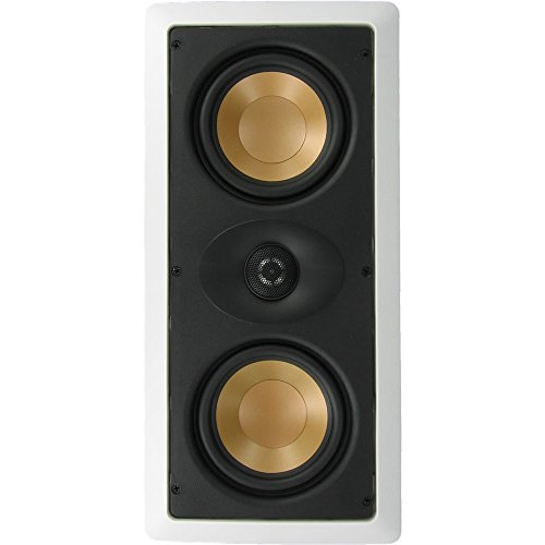 Inwalltech M525.1LCR – 5 1/4″ Dual Aluminum Home Theater In Wall LCR Speaker