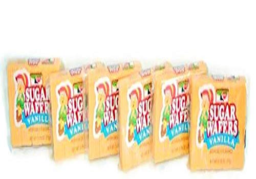 (Keebler Sugar Wafers Vanilla - 6 Pack (2.75 Oz.) Small Storage Space Friendly!)
