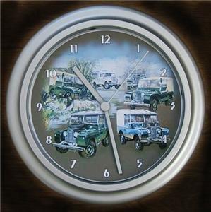 Reloj de pared con estampado de coches clásicos tierra-Land-Rover Series I 1948-1958: Amazon.es: Hogar