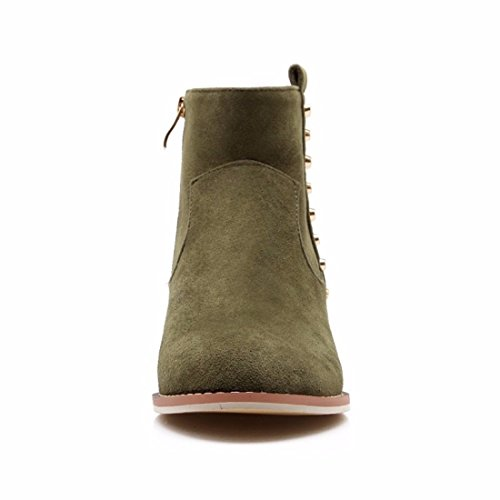 with big Boots girls Suede Winter code green boots boot EwTIqxX