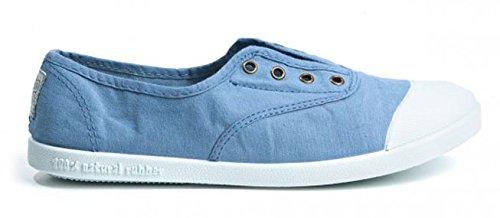 Potomac Canvas Sommer Sneaker Halbschuhe Slipper blau unisex