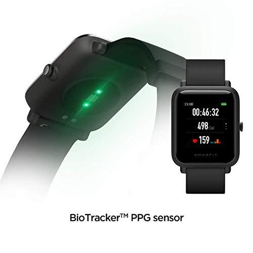 Amazfit Bip S Smartwatch 5ATM GPS GLONASS -Reloj inteligente con bluetooth y conectividad con Android e iOS - Version…
