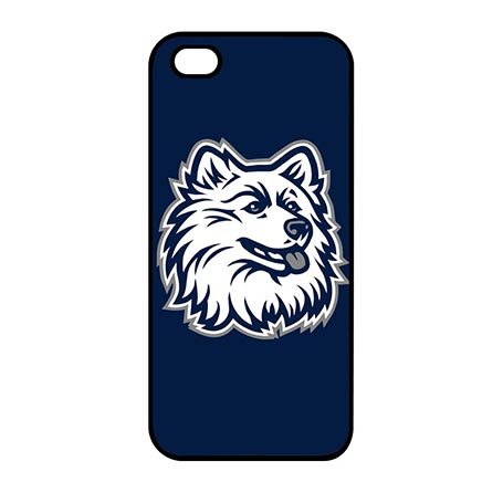 NCAA Design UConn University Durable Plastic Cases for iPhone 7 4.7 Inch - Black Casing for iPhone 7 4.7 Inch (Uconn Pattern)