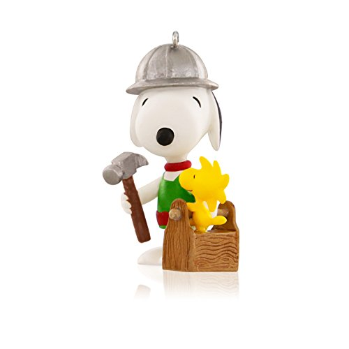(Hallmark Snoopy and Woodstock Construction Keepsake Ornament)