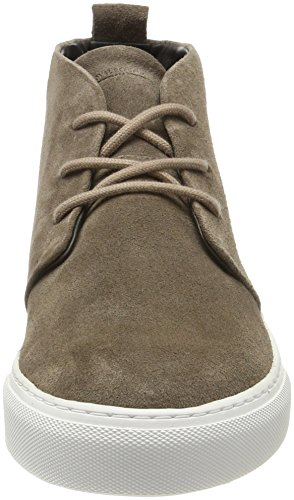 Royal RepubliQ Spartacus Suede White Outsole, Stivali Chukka Uomo Marrone E (Taupe)