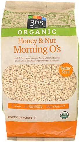 365 Everyday Value, Organic Honey & Nut Morning Oats, 26 oz