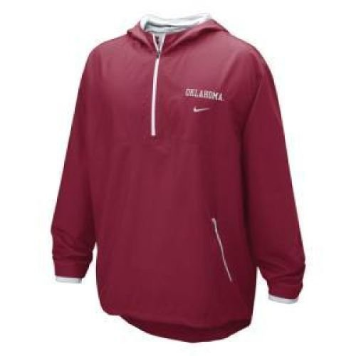 NIKE Oklahoma Sooners Hooded Windshirt - Men - 2XL (Nike Windshirt Mens)