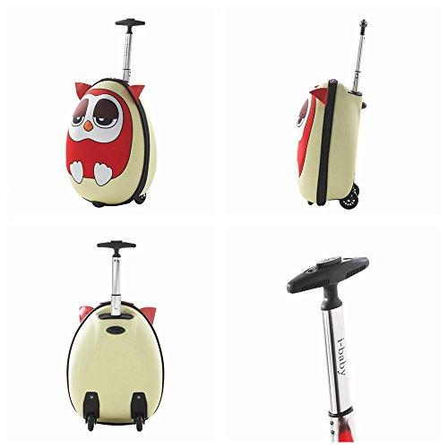 875c5ba9d964 i-baby 2PC Kids Luggage Set Toddler Suitcase Sets 3D Cartoon Rolling ...