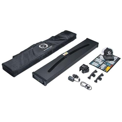 Redrock Micro One Man Crew Director Deluxe Bundle for Camera, Includes Parabolic Automated Slider, Heavy Load Tilt Head, 2x Cable Wrangler Clamps by Redrock Micro