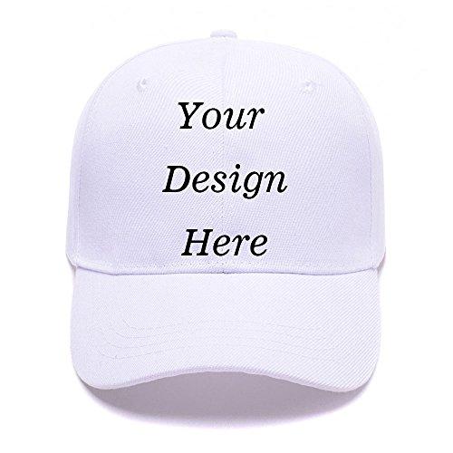 SW&IM Men Womens Custom Hat Graphic Print Design,Team Christmas Fashion Trucker Hats (Baseball White)