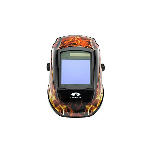 Pyramex WHAM3030FL Auto Darkening Welding Helmet - Manual 98 x 87mm